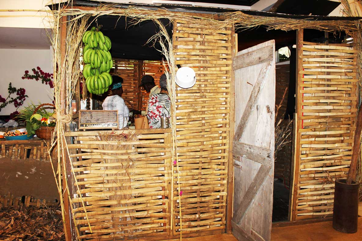 Traditional Jamaican Kitchen